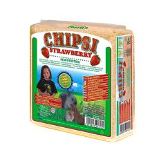 CHIPSI STRAWBERRY - alom, földieper íllattal, 15 L