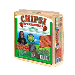 CHIPSI STRAWBERRY - alom, földieper íllattal, 15 L