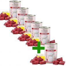 NUEVO Dog Sensitive BEEF konzerv 400 g 5+1 GRÁTISZ