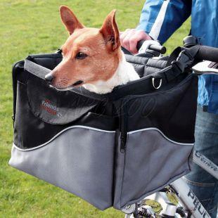 Biciklire szerelhető kutya- és macskaszállító box 41 x 26 x 26 cm