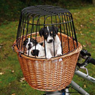 Utazó kosár kerékpárra kutyáknak 44 x 48 x 33 cm