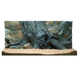 3D akvárium háttér 100 x 60 cm - AMAZON