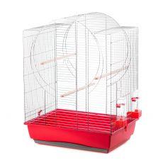 EMMA papagáj kalitka - krómozott, 54 x 39 x 71 cm