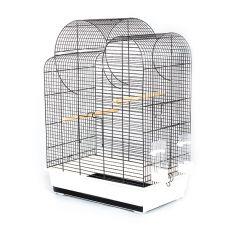 ELIZA papagáj kalitka - fekete - 54 x 34 x 75 cm