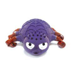 Latex kutyajáték - lila pók