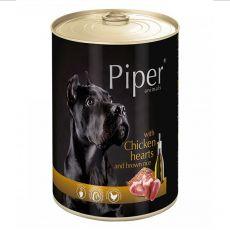 Piper Adult kutyakonzerv csirkeszívvel és barna rizzsel 400 g