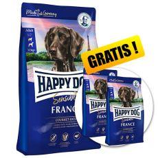 Happy Dog Supreme Sensible France 12,5 kg + 2 x 1kg GRÁTISZ