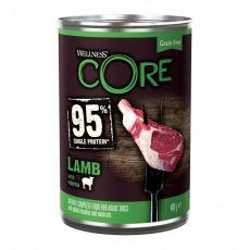 Wellness CORE Dog 95% bárány és tök 400 g