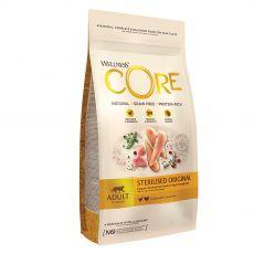 Wellness Core Cat Sterilised csirke és pulyka 4 kg