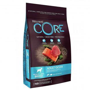 Wellness Core Kutya M/L Felnőtt Óceáni Lazac és Tonhal 10 kg