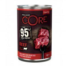 Wellness CORE Dog 95% marha és brokkoli 400 g