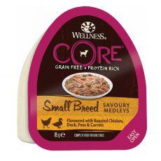 Wellness CORE Dog Small Breed csirke és kacsa 85 g