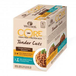 Wellness CORE Tender Cuts Csirke multipack 6 x 85 g