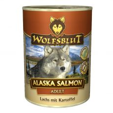 Konzerv WOLFSBLUT Alaska Salmon Adult 395 g