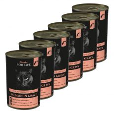 Fitmin Cat For Life Lazac 6 x 415 g