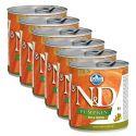 Farmina N&D dog Duck & Pumpkin konzerv 6 x 285 g