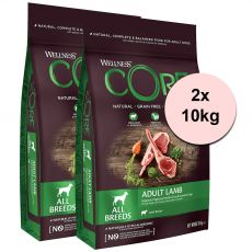 Wellness CORE Felnőtt Bárány 2 x 10 kg