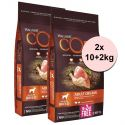 Wellness Core M Kutya Original Pulyka és Csirke 2 x (10+2 kg)