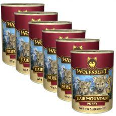 Konzerv Wolfsblut Blue Mountain Kölyökkutya 6 x 395 g