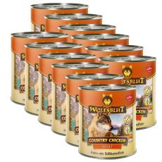 Konzerv Wolfsblut Country Csirke 12 x 800 g