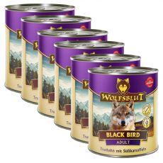 Konzerv Wolfsblut Black Bird 6 x 800 g