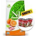 Farmina N&D dog GF ADULT MINI Fish & Orange 7 kg + AJÁNDÉK