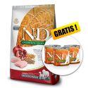 Farmina N&D dog LG SENIOR MEDIUM & MAXI Chicken & Pomegranate 12 kg + AJÁNDÉK