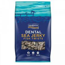 FISH4DOGS Dental Sea Jerky Fish Twists 500 g