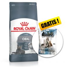 ROYAL CANIN Oral Care fogkőképződést csökkentő táp macskáknak 8 kg + AJÁNDÉK