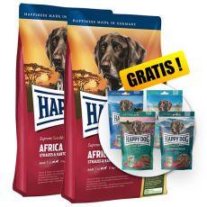 Happy Dog Supreme Africa 2 x 12,5 kg + AJÁNDÉK