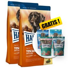 Happy Dog Supreme Toscana 2 x 12,5kg + AJÁNDÉK