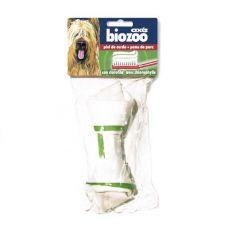 Rágócsont kutyáknak - sertésbőr, 17 cm