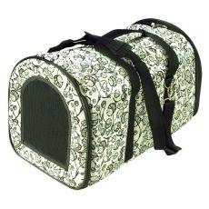 Kutyaszállító és macskaszállító táska - fehér, 44 x 30 x 30 cm