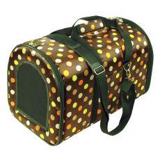 Macskahordozó és kutyahordozó táska - barna, 44 x 30 x 30 cm
