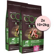 Wellness CORE Felnőtt Bárány 2 x (10+2 kg)