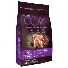 Wellness CORE Dog S/M Kölyökkutya Pulyka és Csirke 1,5 kg