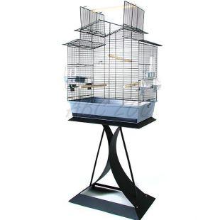 IZA III papagáj kalitka + állvány