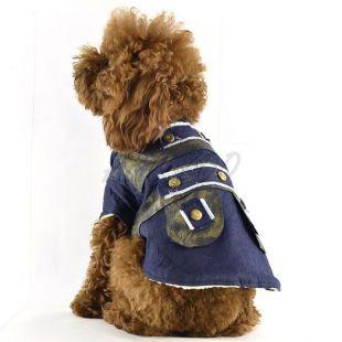 Kutya kabát, farmer - bélelt, XL