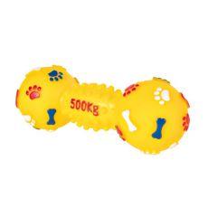Kutyajáték - vinil súlyzó, 19 cm