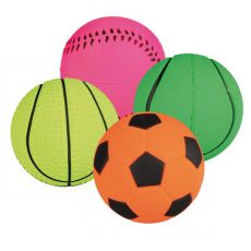 Gumilabda kutyáknak - sportlabda, 6 cm