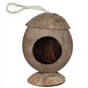 Rágcsálóház - kókuszrost, felakasztható, 12 cm