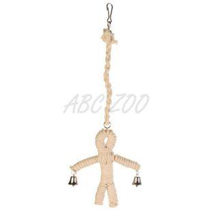 Madárjáték - csengős szizál figura