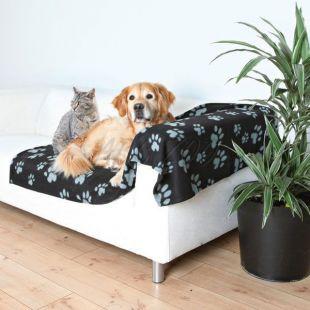 Kutya, macska pokróc - szürke mancs, 150 x 100 cm