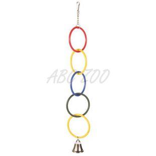 Madárjáték - csengős lánc, 25 cm
