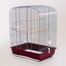 Kalitka papagájnak ELENA - krómozott, 53 x 39 x 71 cm