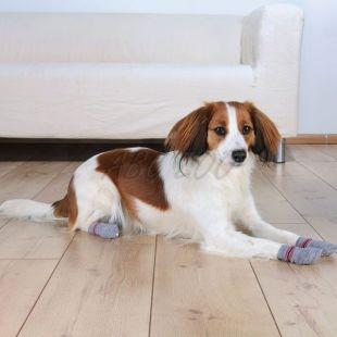 Zokni kutyáknak - csúszásgátló 2 db, XS - S