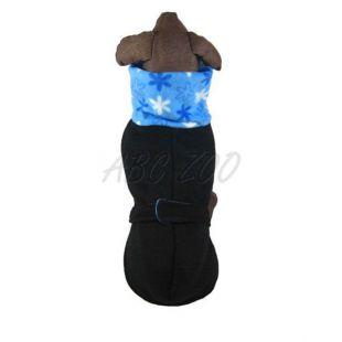 Nagytermetű kutyák számára mellény - kékes-fekete színű, L - S
