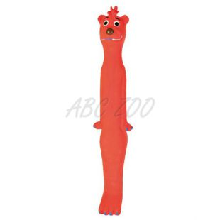Játék kutyáknak - narancssárga kutya 30 cm