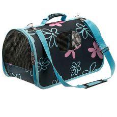 Kutya és macska hordozó táska - kék, 37 x 22 x 20 cm
