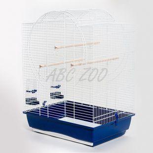 Kalitka papagájnak EMMA - fehér - 54 x 39 x 71 cm